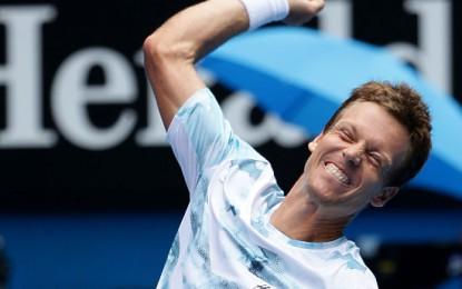 Бердых выбил Надаля с Australian Open и в полуфинале встретится с Марреем