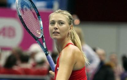 Мария Шарапова обыграла Зарину Дияс со счетом 6:1, 6:1 и вышла в 18 финала Australian Open