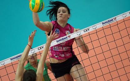 Екатерина Гамова и ее казанское «Динамо» —  в плей-офф Лиги чемпионов по волейболу