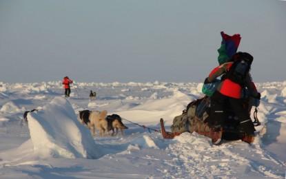 Полярная экспедиция «Карелия — Северный полюс — Гренландия» Конюхова и Симонова берет курс на Канаду