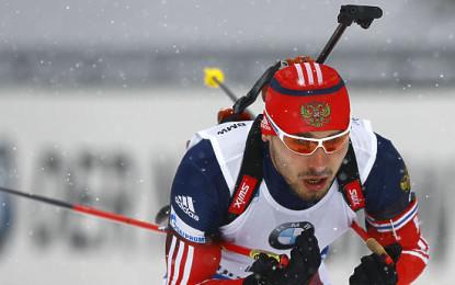 Биатлон, Кубок мира: мужская сборная России завоевала «серебро» в эстафете