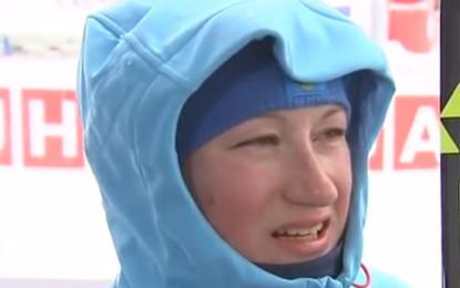 Биатлон. Ольга Подчуфарова: «Финиш больше не проиграю!»