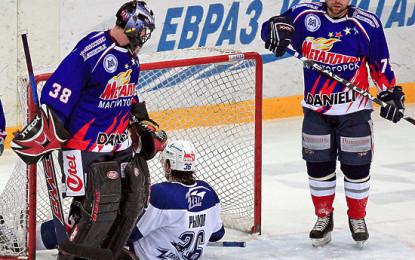 ЦСКА обыграл «Металлург» в третьем матче финала Кубка Гагарина в овертайме. Онлайн-трансляция